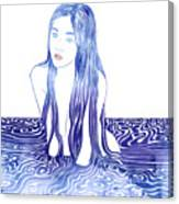 Water Nymph L Canvas Print
