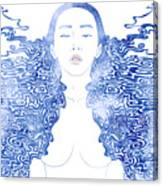 Water Nymph Lxxx Canvas Print