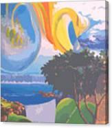 Water Planet Series - Vetor Version Canvas Print