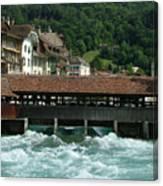 Water Power Lucerne Canvas Print