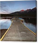 Water Reflections At Pyramid Lake Canvas Print