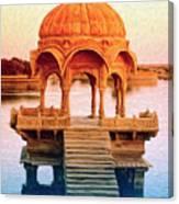 Water Shrine Canvas Print
