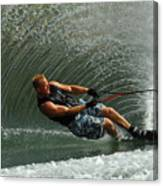 Water Skiing Magic Of Water 11 Canvas Print