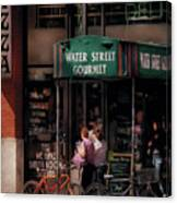 Water St Gourmet Deli  Canvas Print