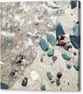 Water Stones Canvas Print