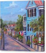 Water Street in Charleston Canvas Print