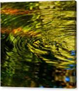 Water Swirl Canvas Print