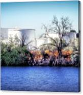 Water Tanks Canvas Print