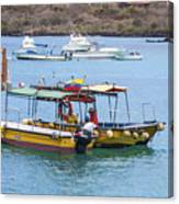 Water Taxis Waiting Canvas Print