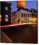 Water Tower Lauwerhof In Utrecht 25 Canvas Print