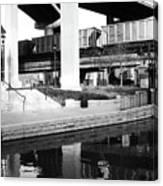 Water Under The Bridges Canvas Print