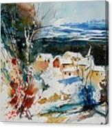 Watercolor  011040 Canvas Print