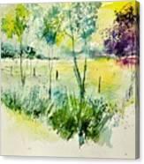 Watercolor 014052 Canvas Print