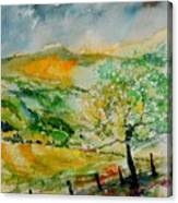 Watercolor 014091 Canvas Print