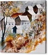 Watercolor 015032 Canvas Print