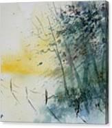 Watercolor  080708 Canvas Print