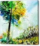 Watercolor 114062 Canvas Print