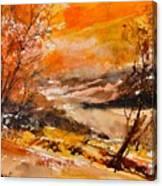 Watercolor 115011 Canvas Print