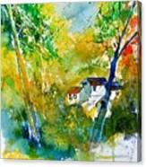 Watercolor 115021 Canvas Print