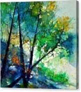 Watercolor 119042 Canvas Print