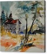 Watercolor 119070 Canvas Print