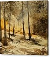 Watercolor  191106 Canvas Print