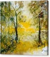 Watercolor 210108 Canvas Print