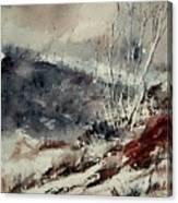 Watercolor 446 Canvas Print
