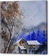 Watercolor 45512113 Canvas Print