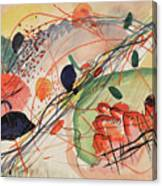Watercolor 6 Wassily Kandinsky, 1911 Canvas Print