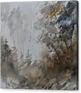 Watercolor 614010 Canvas Print
