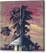 Watercolor 73 Canvas Print