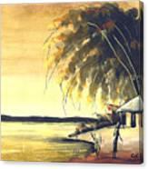 Watercolor 85 Canvas Print