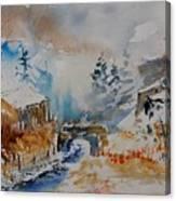 Watercolor  902102 Canvas Print
