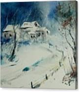 Watercolor 905001 Canvas Print