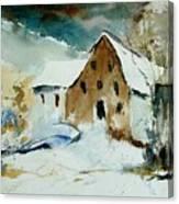 Watercolor 9696 Canvas Print