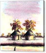 Watercolor 98 Canvas Print