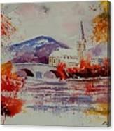 Watercolor Anseremme Canvas Print