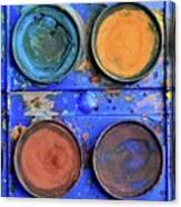 Watercolor Box Canvas Print
