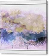 Watercolor Landscape Canvas Print