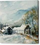 Watercolor Sechery 1207 Canvas Print