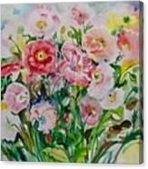 Watercolor Series No. 258 Canvas Print