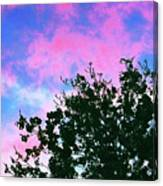 Watercolor Sky Canvas Print