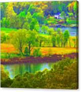 Watercolor View Canvas Print