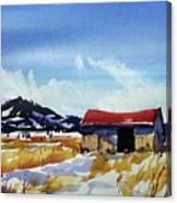 Watercolor3557 Canvas Print