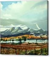 Watercolor3574 Canvas Print