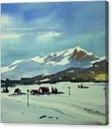 Watercolor3597 Canvas Print