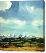 Watercolor4014 Canvas Print