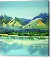 Watercolor4469 Canvas Print