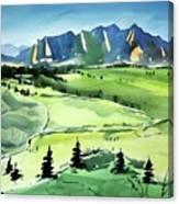 Watercolor4509 Canvas Print